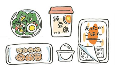 超商食品減重菜單:肉類。(采實文化提供)