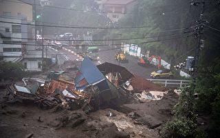 日本爆大規模泥石流 場面嚇人 20人失蹤