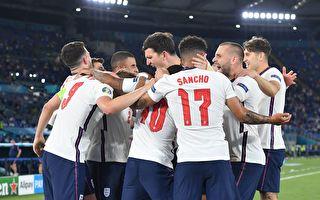 歐洲盃八強賽 英格蘭勝烏克蘭 丹麥淘汰捷克