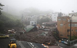組圖:日本靜岡縣豪雨致泥石流 逾百人失蹤