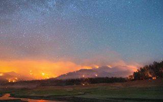 獨立日週末加州遭遇多場野火 火勢猛烈