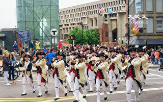 【視頻】波士頓萬人遊行 慶祝《獨立宣言》245週年