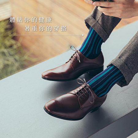 彩色条纹除臭袜让足下清爽。