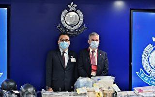 香港國安處拘捕九人涉製炸彈