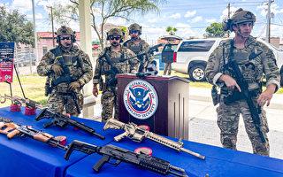 更多槍枝彈藥走私到墨西哥 ICE呼籲民眾提供信息