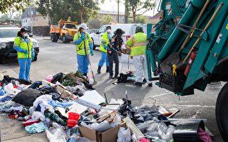 加州斥重金 發力清理全州垃圾