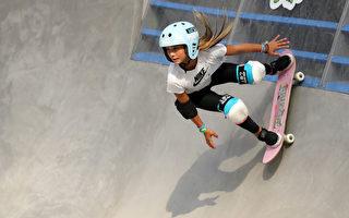 12岁女孩参加奥运会 英国年龄最小运动员