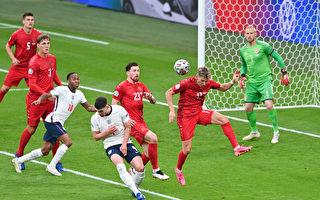 組圖:歐洲盃足球半決賽 英格蘭2:1勝丹麥