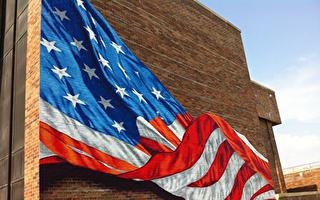 駁黑命貴仇恨論 紐約畫家:美國國旗代表所有人