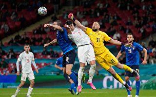組圖:歐洲盃足球半決賽 意大利5:3勝西班牙