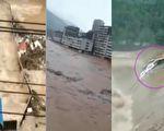 洪水達兩層樓 四川巴中百餘鎮21萬人受災