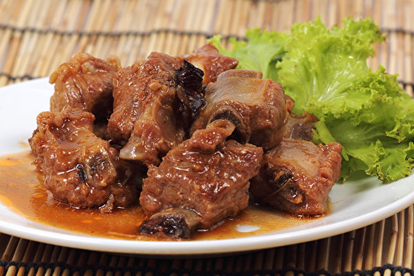 Barbecue,Pork,Ribs,Roasted,With,Tomato,Sauce,慢炖肉