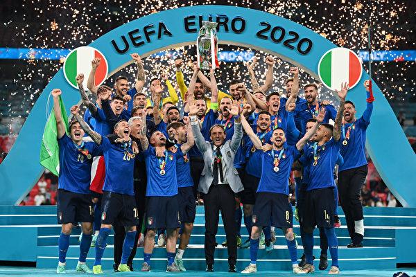 点球战胜英格兰 意大利时隔53年再夺欧洲杯