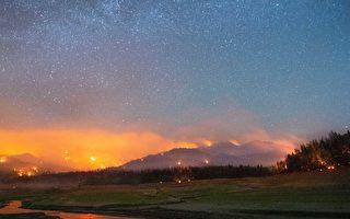 加州北部罕見火龍捲風 驚悚視頻曝光