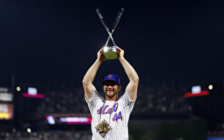 MLB全垒打大赛阿隆索蝉联冠军 大谷翔平两度延长吞败