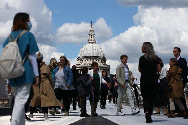 倫敦就業全面恢復 全職與臨時工需求顯著