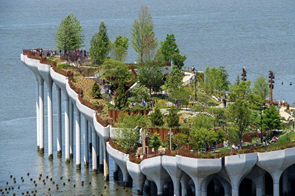 組圖:紐約市「小島」公園展現漂浮意象
