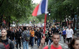 萬人抗議強制接種和健康證 法警發催淚彈