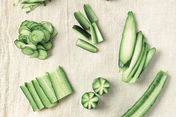 抗暑祛熱 小黃瓜不同切法做出不一樣料理