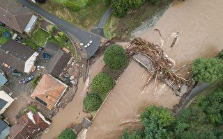特大暴雨洪災震驚德國 至少59人喪生
