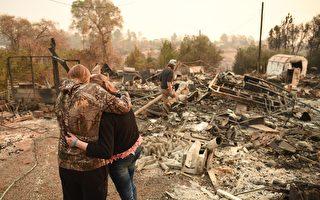 北加州迪克西大火蔓延 天堂鎮居民憂歷史重演