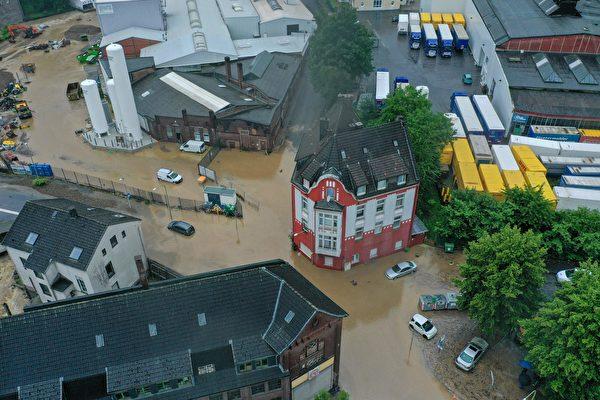 組圖:德國西部遭重大洪災 逾80死1300失蹤