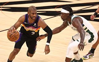 NBA总决赛:雄鹿客场险胜太阳 夺冠军赛点