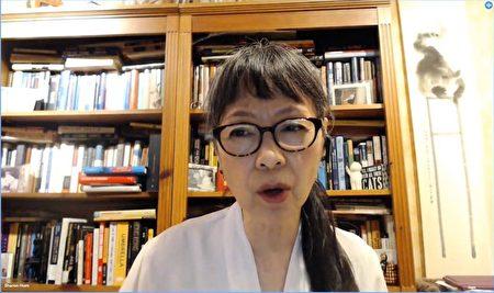 中國人權執行主任譚競嫦。