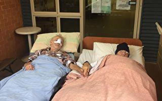 癌末老人想見妻子最後一面 愛心醫護幫了願