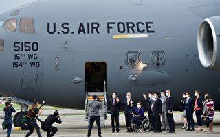 美軍機抵台 中共跳腳 涂醒哲:說說而已