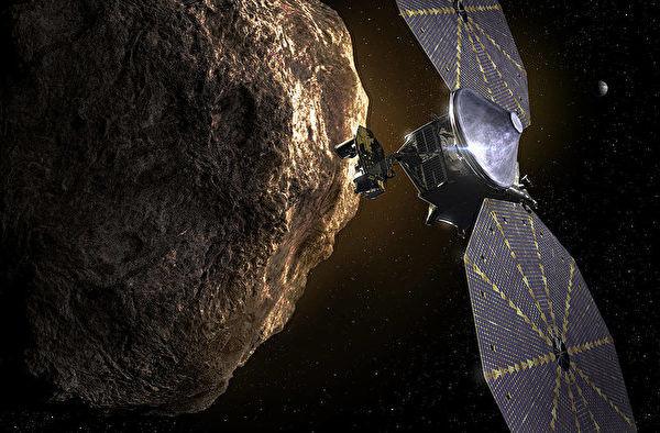 帶訊息給未來人 小行星探測器Lucy將發射升空