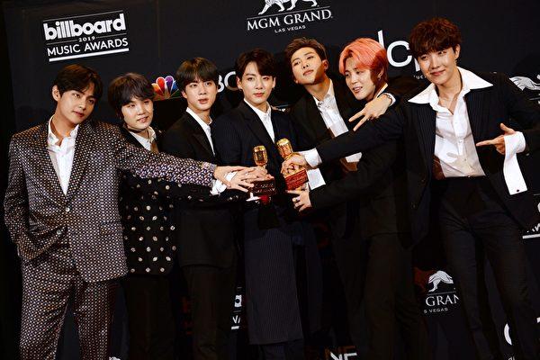 BTS佔Hot 100榜兩席 新歌再度空降告示牌冠軍