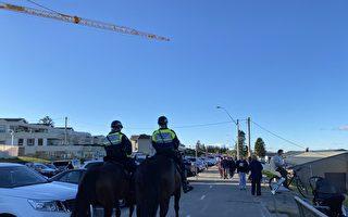 警方一天開160張罰單 悉尼寫字樓辦生日派對遭罰