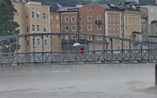 组图:奥地利暴雨成灾 多个地区成水乡泽国