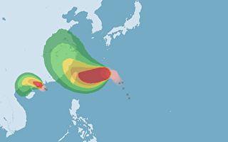 颱風烟花增強為中颱 台氣象局說明最新情況