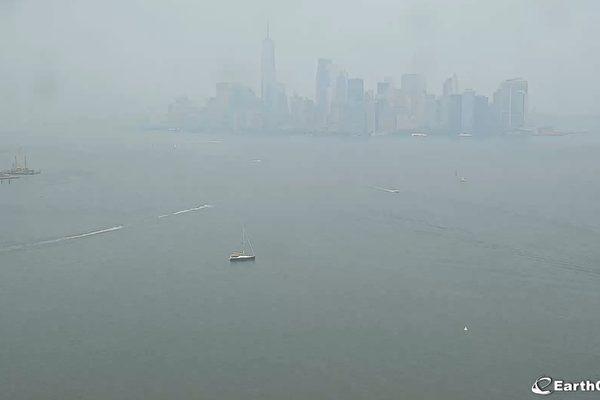 西部野火浓烟蔓延至三州  影响空气质量