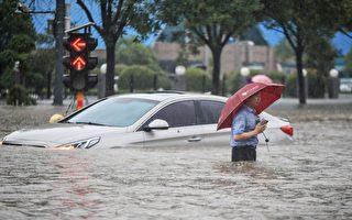 外媒記者報導鄭州洪水受威脅 被指中共推動
