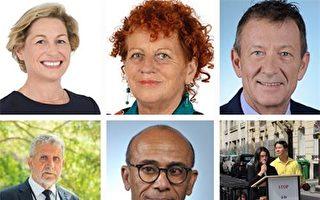 法國十城市法輪功反迫害 政要媒體支持