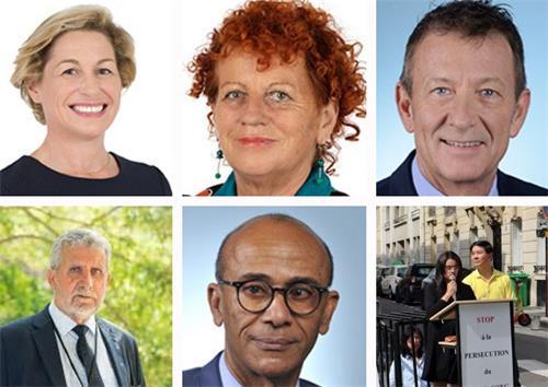 法国十城市法轮功反迫害 政要媒体支持