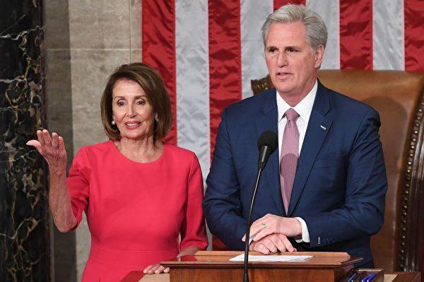 佩洛西拒两议员加入国会事件调查 麦卡锡回应