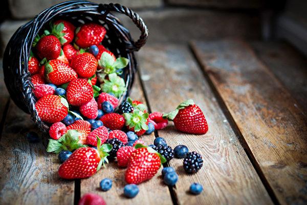 莓果豐富的顏色代表它們富含抗氧化劑和抗病營養素。(Shutterstock)