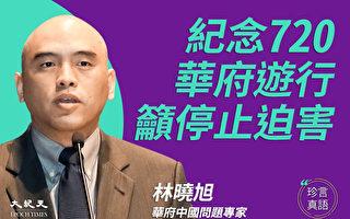 【珍言真語】林曉旭:制止迫害法輪功正成趨勢