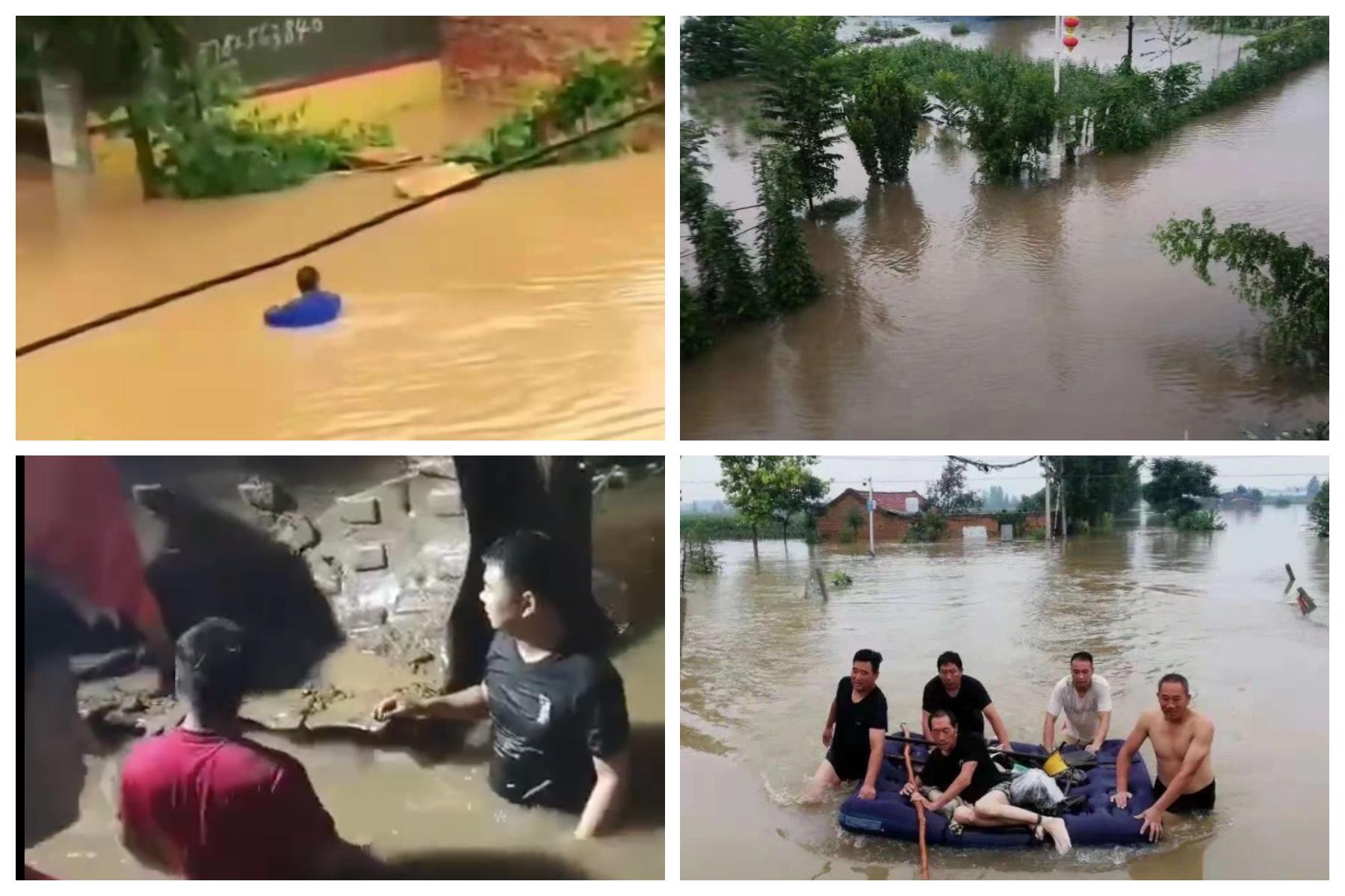 [新聞] 河南鶴壁村民加高河堤自救 官兵毀堤洩洪