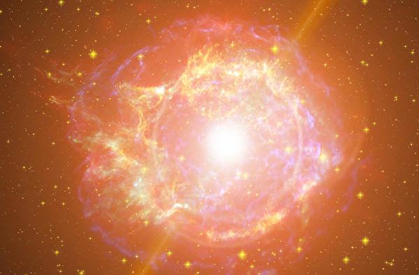 極超新星爆炸誕生新恆星 能量為超新星十倍