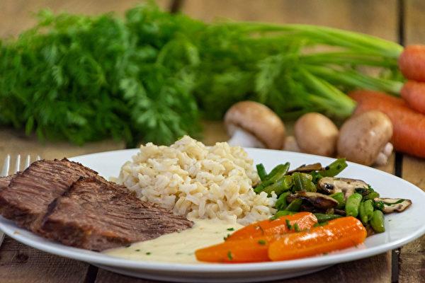 正确的饮食可以控制三高、维护肾脏健康。(Shutterstock)