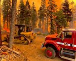 迪克西山火扩散逾10万英亩 5支突击队全力灭火