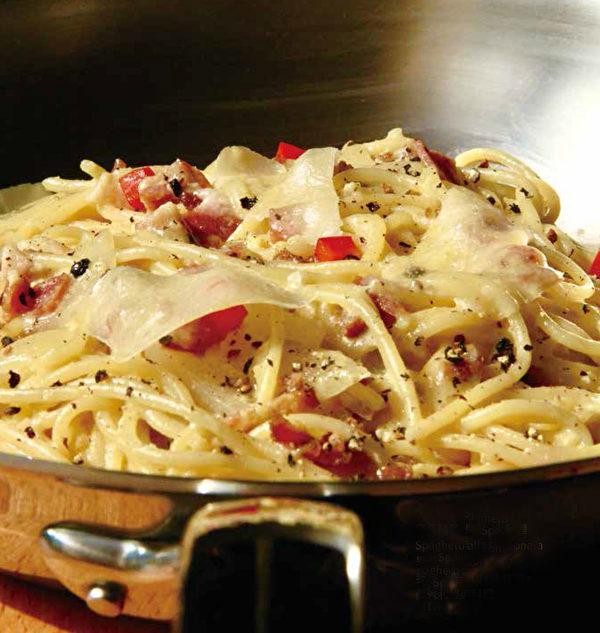 羅馬豬頸培根義大利麵