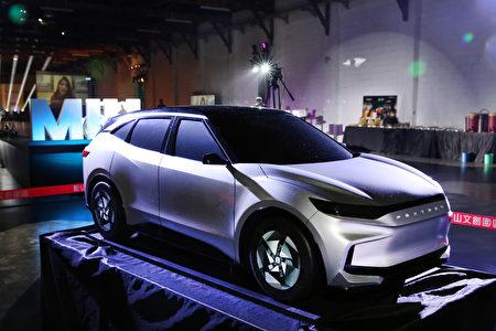 鴻海董事長劉揚偉指出,將全力帶領加入MIH聯盟的臺灣電動車供應商到全世界進行設廠。圖為鴻海計畫中的電動車。