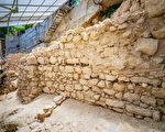 考古發現以色列猶太國鐵器時代古城牆遺跡