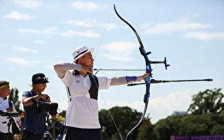 组图:东奥7·23 韩17岁男箭手金济德排第一